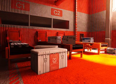 edge, mirrors, Mirrors Edge, orange - random desktop wallpaper