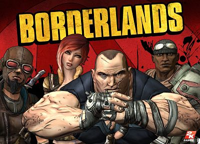 Borderlands - random desktop wallpaper