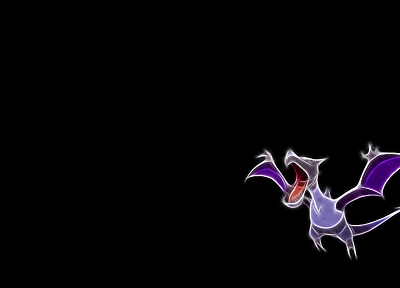 Pokemon, black background - popular desktop wallpaper