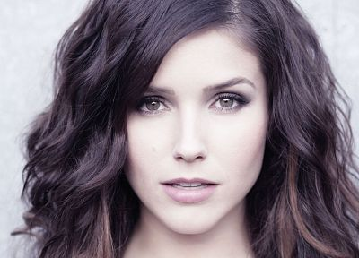 brunettes, women, close-up, Sophia Bush, faces - desktop wallpaper