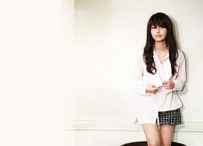 women, music, Girls Generation SNSD, Asians, Korean, Choi Sooyoung, K-Pop, bangs - related desktop wallpaper