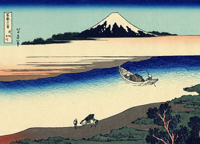 Katsushika Hokusai, Thirty-six Views of Mount Fuji - random desktop wallpaper
