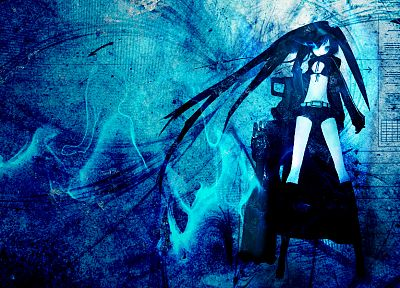 Black Rock Shooter - desktop wallpaper