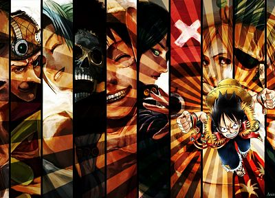 One Piece (anime), Monkey D Luffy - related desktop wallpaper
