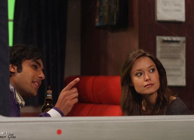 Summer Glau, The Big Bang Theory (TV), Rajesh Ramayan Koothrappali, Kunal Nayyar - random desktop wallpaper
