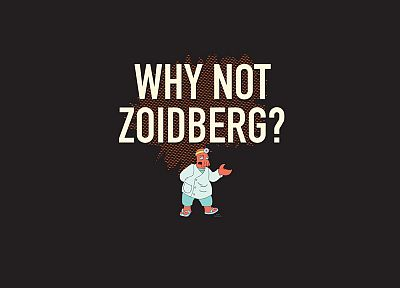 Futurama, text, Dr Zoidberg - related desktop wallpaper