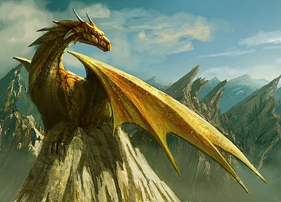 fantasy, wings, dragons, artwork - related desktop wallpaper