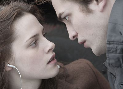 women, Kristen Stewart, Twilight, Robert Pattinson, Edward Cullen, Bella Swan - random desktop wallpaper