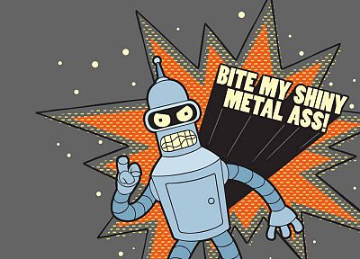 Futurama, Bender - related desktop wallpaper