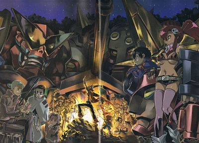 Tengen Toppa Gurren Lagann, anime - related desktop wallpaper