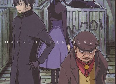 text, Darker Than Black, Hei, Yin, Mao (Darker Than Black), Huang - random desktop wallpaper
