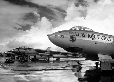 aircraft, military, B-47 Stratojet - random desktop wallpaper
