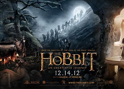 Gandalf, The Hobbit, movie posters, Bilbo Baggins, Galadriel, Elrond, Thorin Oakenshield, Kili, Fili, Richard Armitage - desktop wallpaper