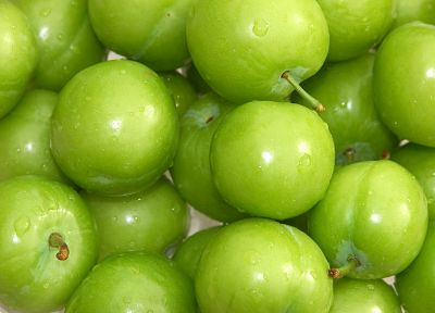 fruits, food, green apples, apples - related desktop wallpaper