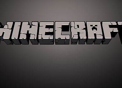 Minecraft, logos - related desktop wallpaper