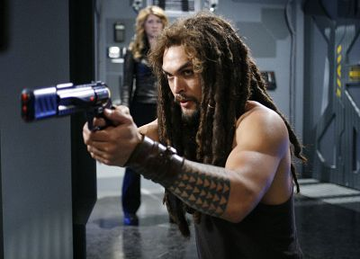 Stargate Atlantis, Jason Momoa, Ronon Dex - random desktop wallpaper