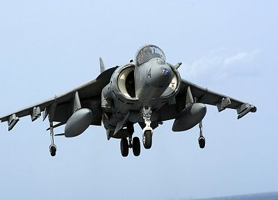 aircraft, military, harrier, vehicles, AV-8B Harrier - desktop wallpaper