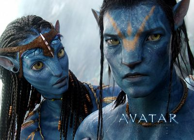 movies, Avatar, Neytiri, Jake Sully - related desktop wallpaper