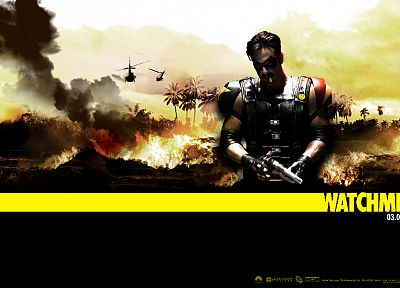 Watchmen, movies, Viet Nam, The Comedian, Jeffrey Dean Morgan, posters - related desktop wallpaper