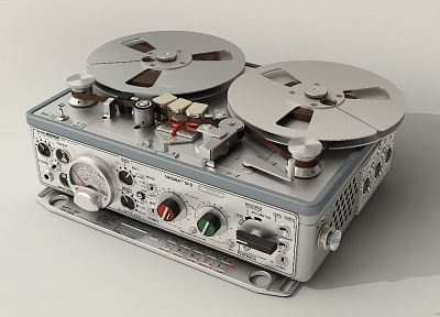 Recorder, tape recorders, reel to reel - random desktop wallpaper
