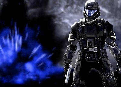 video games, Halo ODST - random desktop wallpaper
