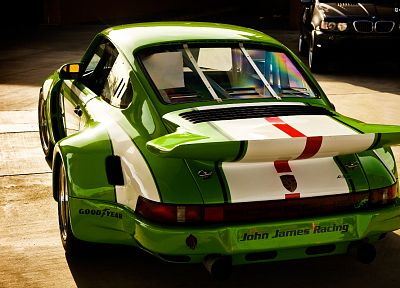 green, Porsche, cars, sports, carrera, vehicles, German, Porsche 911, classic cars - related desktop wallpaper