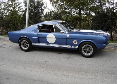 cars, roads, 1967, Ford Mustang Shelby GT350, racing cars - desktop wallpaper