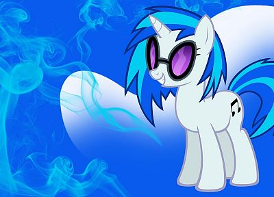 Vinyl Scratch, My Little Pony: Friendship is Magic - desktop wallpaper