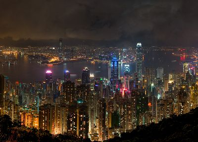 landscapes, cityscapes, buildings, Hong Kong, cities - related desktop wallpaper