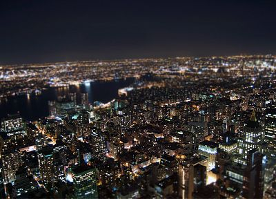cityscapes, buildings, New York City, Brazil, citylights - desktop wallpaper