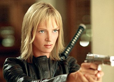 Uma Thurman, Kill Bill - random desktop wallpaper