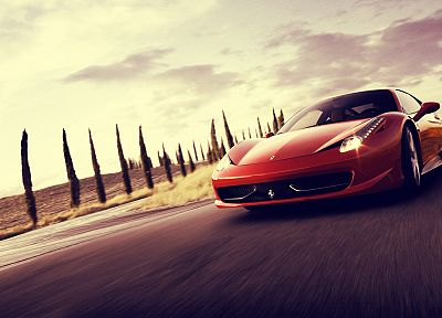 cars, Ferrari, supercars, Ferrari 458 Italia - popular desktop wallpaper
