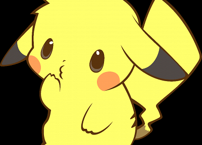 Pokemon, Pikachu, transparent, anime vectors - desktop wallpaper