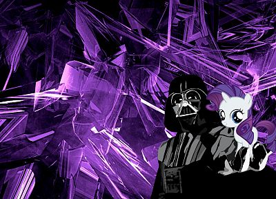 Darth Vader, My Little Pony, Rarity - related desktop wallpaper