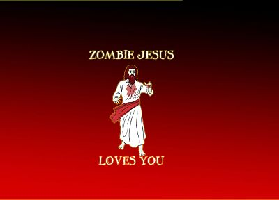 zombies, Jesus Christ - random desktop wallpaper