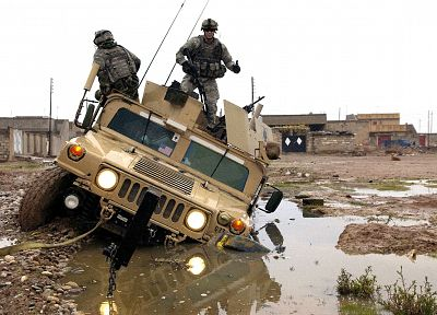 soldiers, army, military, Humvee - related desktop wallpaper