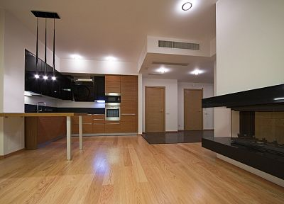 interior, wood floor - desktop wallpaper