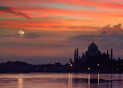 cityscapes, Taj Mahal - random desktop wallpaper