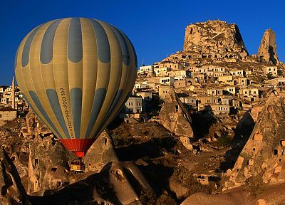 Turkey, hot air balloons, sightseeing - random desktop wallpaper
