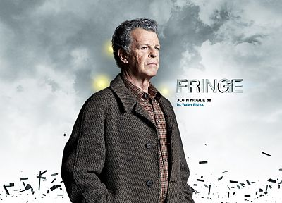 TV, white, Walter Bishop, John Noble - related desktop wallpaper