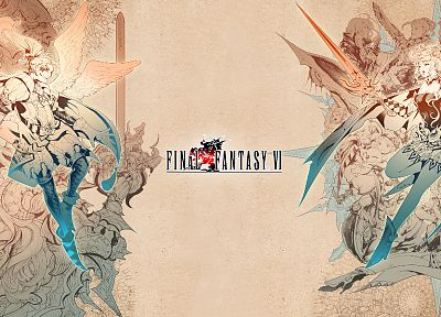 Final Fantasy - random desktop wallpaper