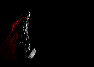 Thor, Marvel, Chris Hemsworth, Thor (movie), Mjolnir - desktop wallpaper