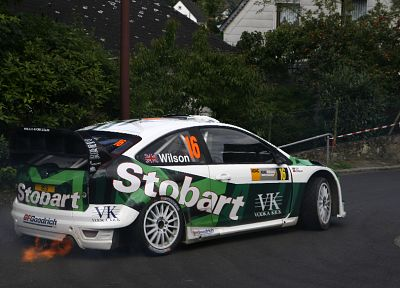 cars, Ford, side view, Ford Focus WRC - random desktop wallpaper