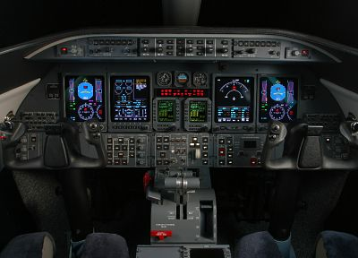 aircraft, cockpit, planes - desktop wallpaper