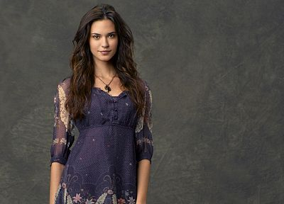 brunettes, women, dress, actress, Odette Annable - desktop wallpaper