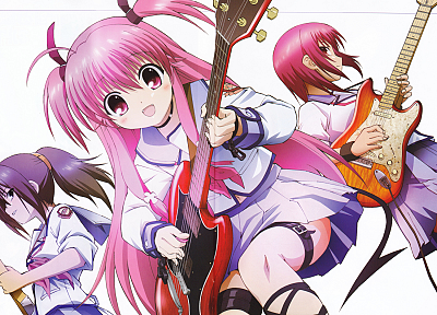 Angel Beats!, Hisako, Yui (Angel Beats), Girls Dead Monster, Iwasawa Masami - random desktop wallpaper