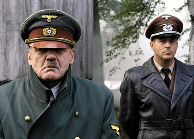 Nazi, actors, Adolf Hitler, Der Untergang, movie stills - desktop wallpaper
