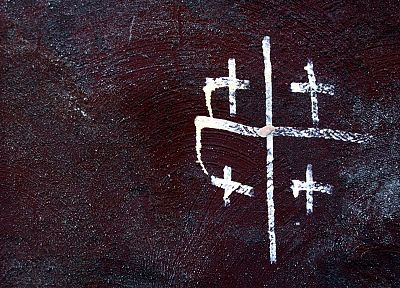 abstract, cross - related desktop wallpaper
