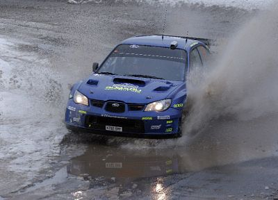 rally, Subaru, Subaru Impreza WRC - desktop wallpaper