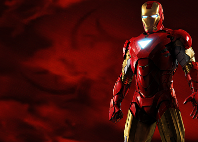 movies, red, Tony Stark, Iron Man 2 - related desktop wallpaper